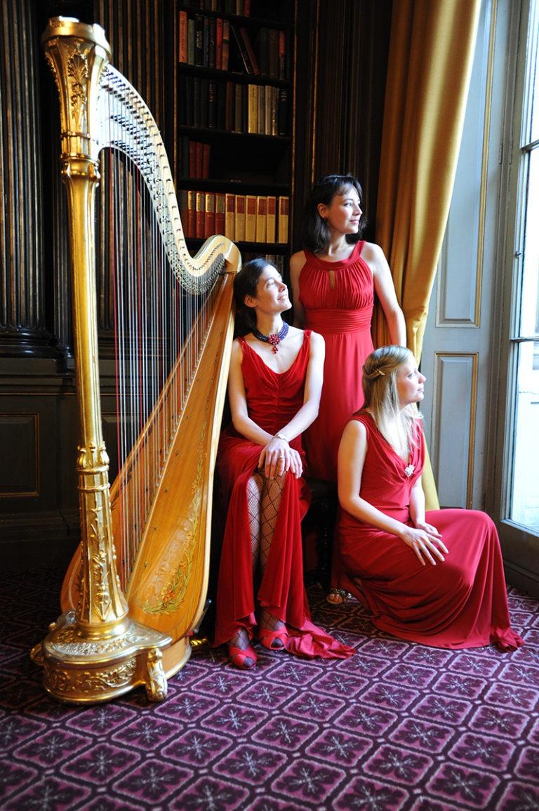 Ellen Smith, harpist