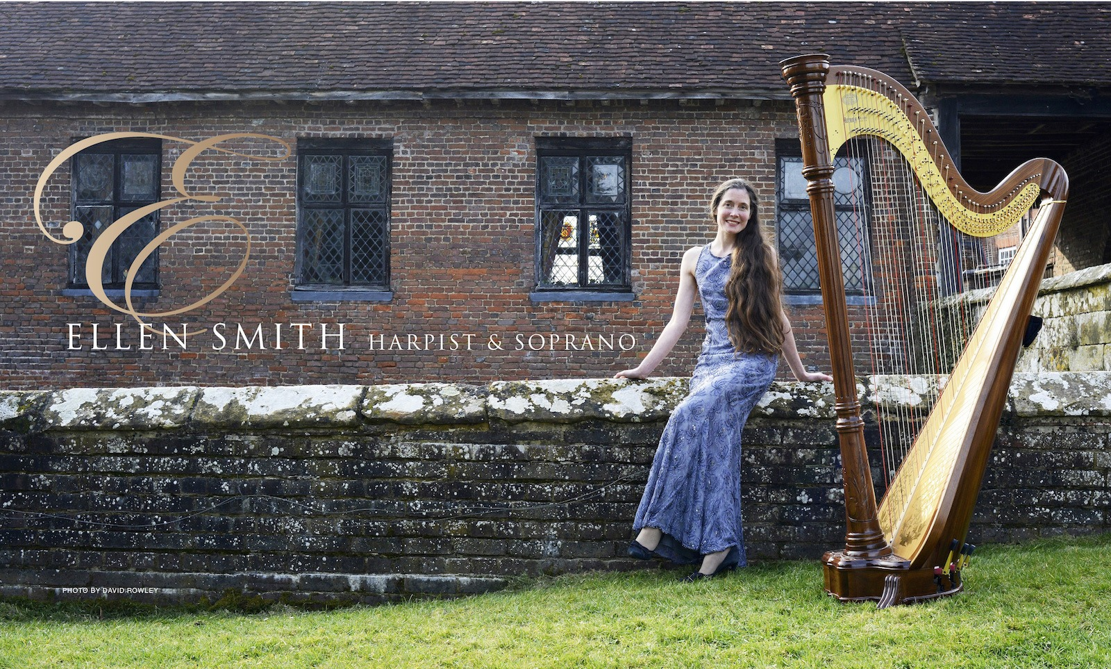 Ellen Smith, harpist and soprano