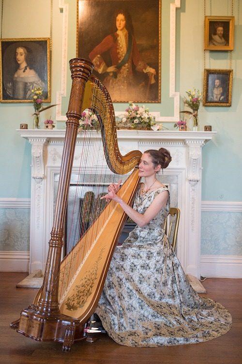 Ellen Smith, harp