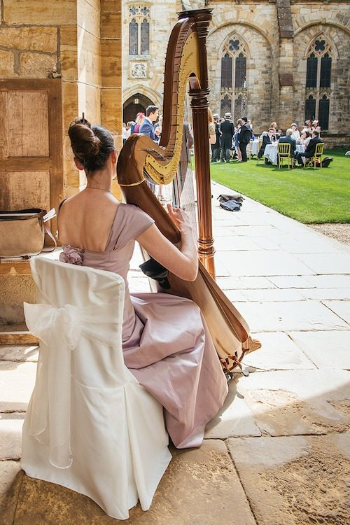 Ellen Smith, harp_wedding