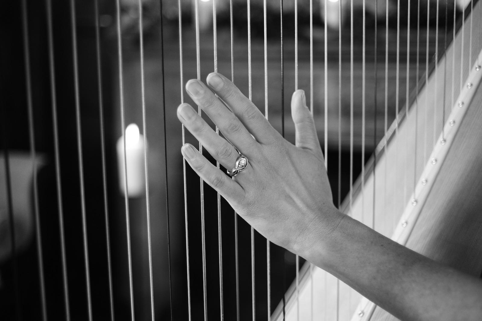 Ellen Smith, harpist, soprano
