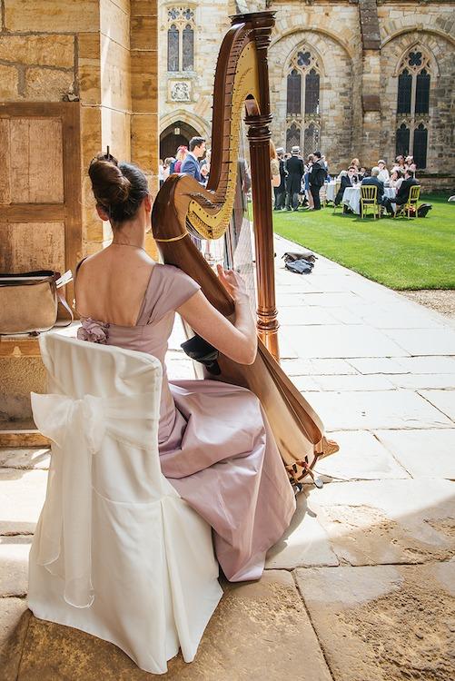 Ellen Smith, harp_wedding